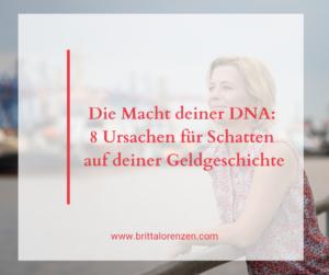 Die Macht deiner DNA 8 Schatten auf deiner Geldgeschichte